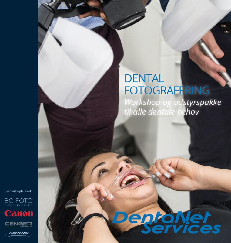 Dental fotografering - forside på brochure